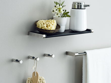 Bathroom accessories - versatile design in the bathroom