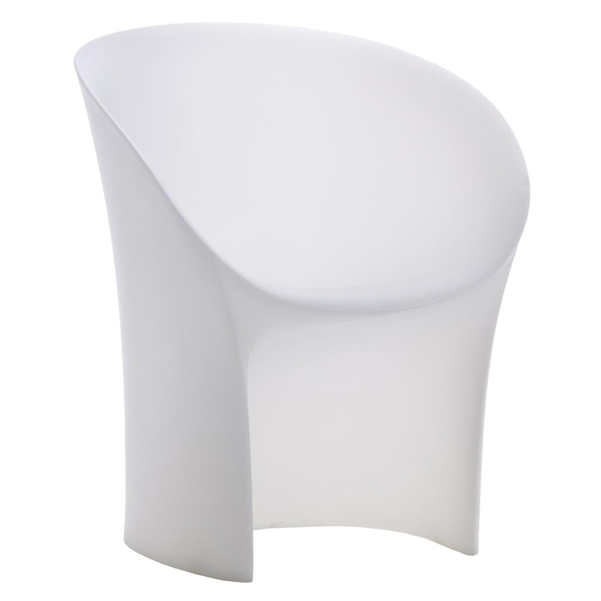 Black moon chair - Moroso Moon Chair White