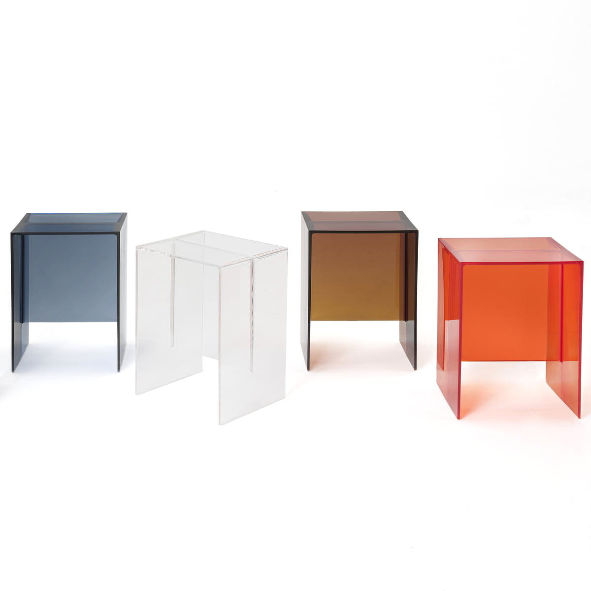 the maxbeam stool and side table by kartell - kartell  maxbeam stool  side table