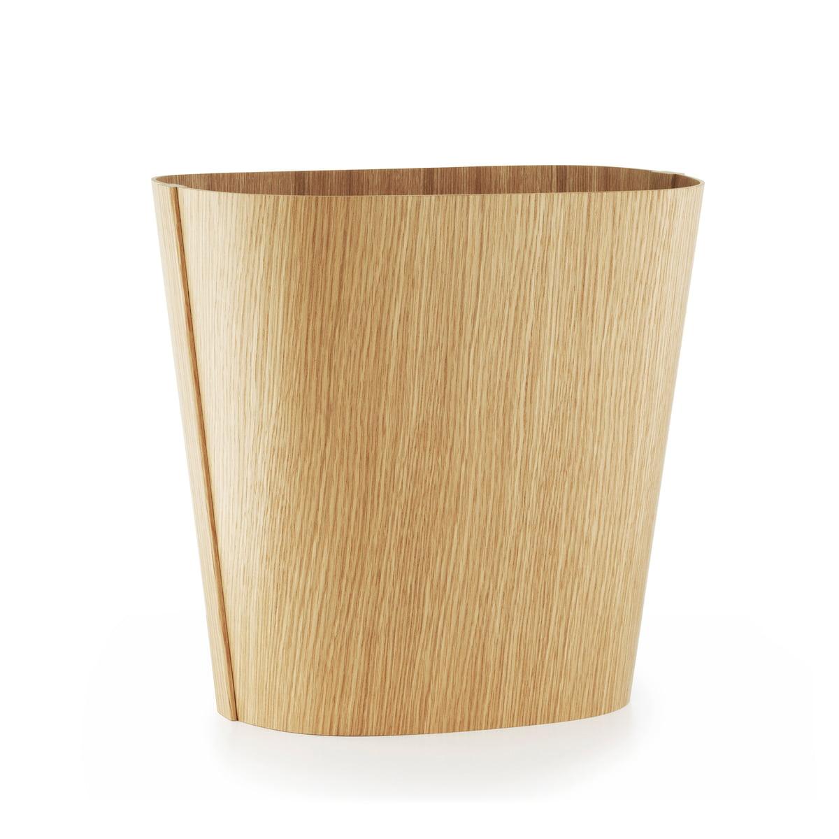 Oak Waste Basket ~ Wooden bin by normann copenhagen at the shop