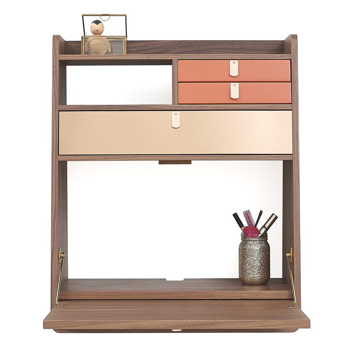 Buy The Gaston Wall Secretary Desk By Hart 244