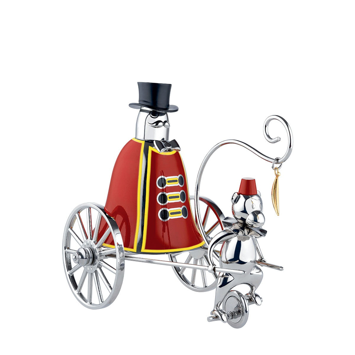 the ringleader call bell by alessi - the ringleader call bell (limited edition) by alessi
