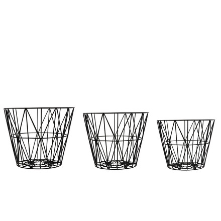 ferm Living - Wire Basket Small, sizes
