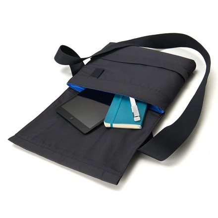 Moleskine - sling bag, small, opened, lying