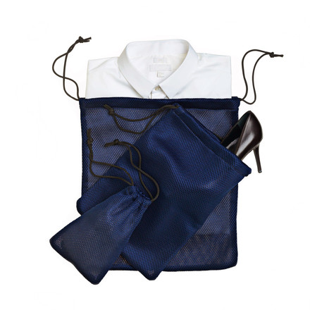 Nomess - Mesh Bag (set of 3) with content
