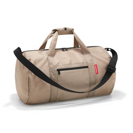 reisenthel - mini maxi dufflebag in taupe