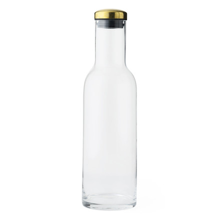 New Norm water bottle 1L by Menu with brass lid