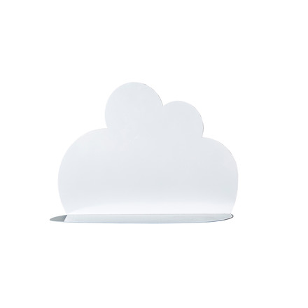 Small Cloud Shelf by Bloomingville in white