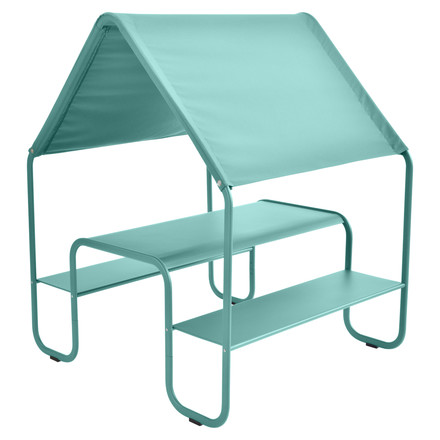 Fermob - Children's Picnic Hut by Fermob in lagoon blue