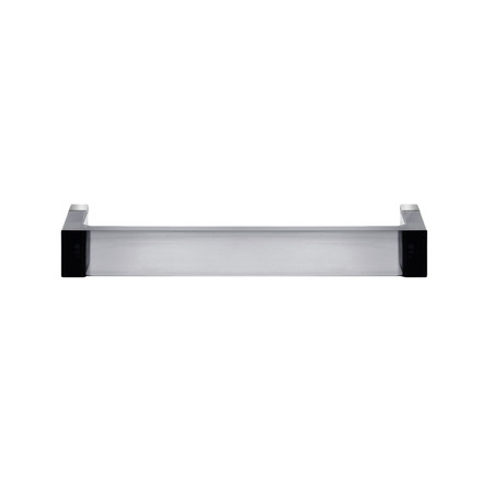 Rail Hand Towel Holder 30 cm by Kartell in smoke