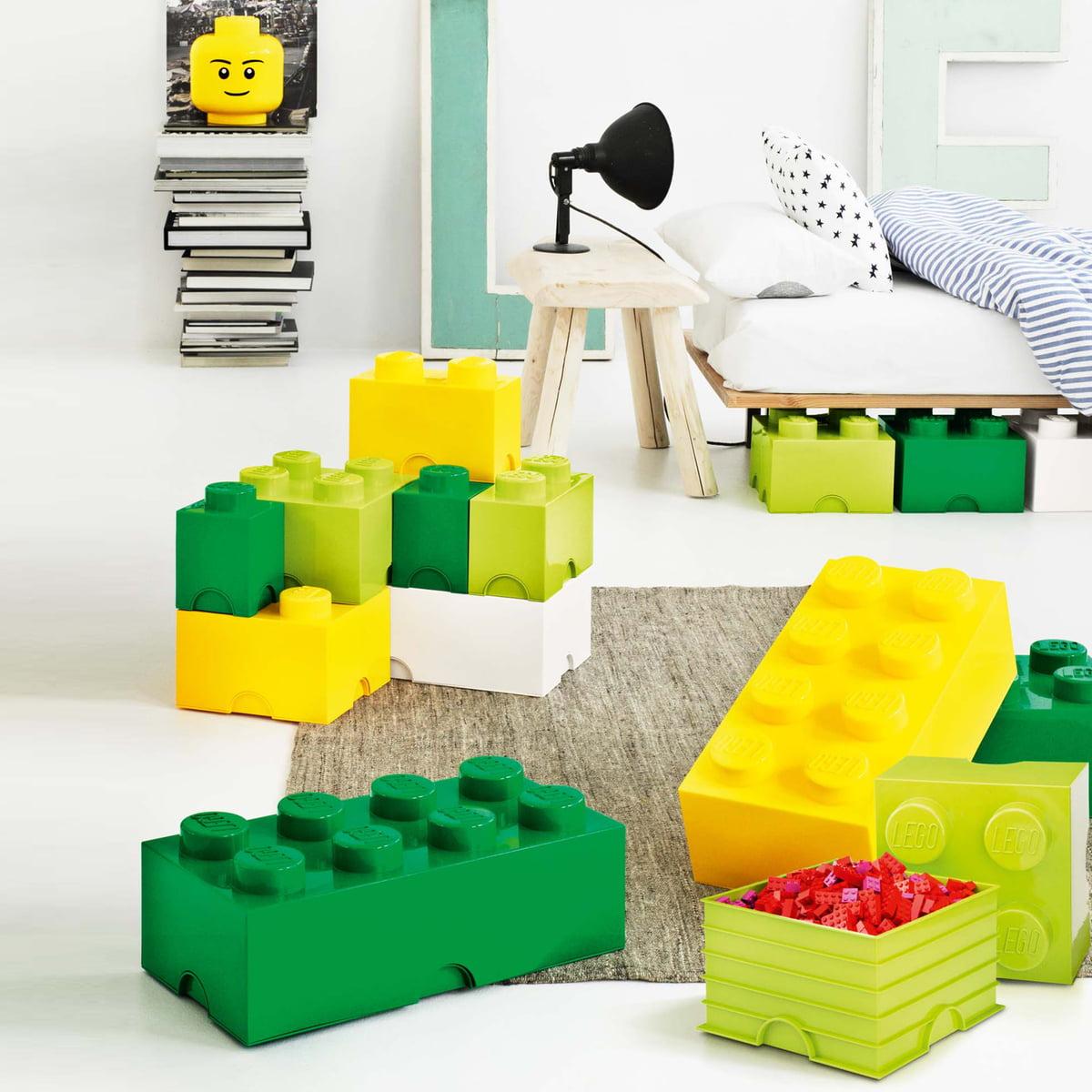 storage brick 2 by lego in the home design shop. Black Bedroom Furniture Sets. Home Design Ideas