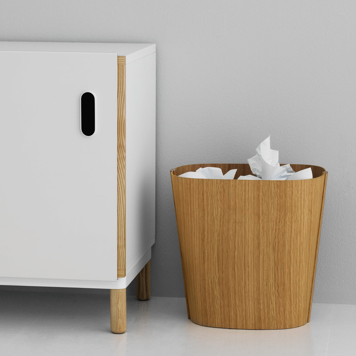 wooden bin by normann copenhagen at the shop. Black Bedroom Furniture Sets. Home Design Ideas