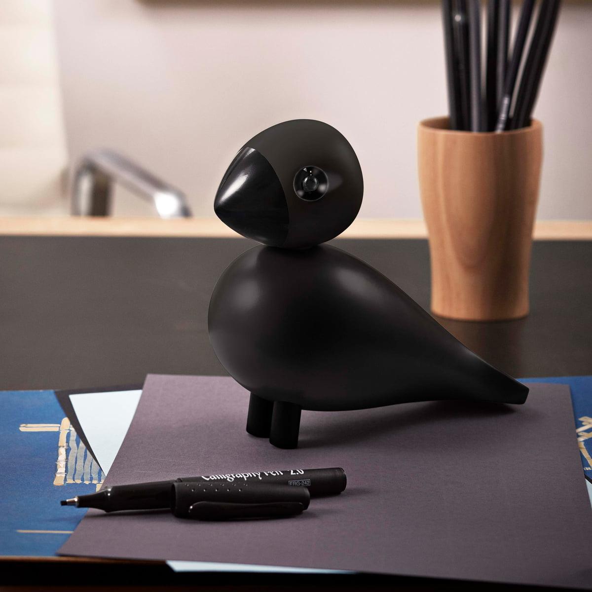 songbird raven by kay bojesen denmark. Black Bedroom Furniture Sets. Home Design Ideas