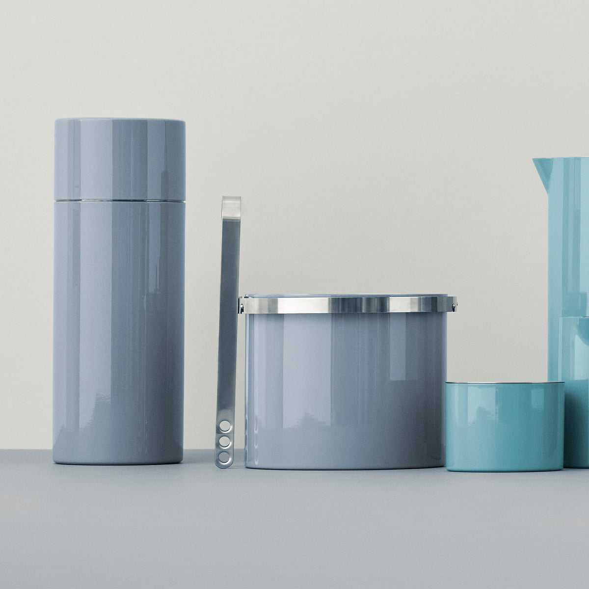 cylinda line cocktail shaker by stelton. Black Bedroom Furniture Sets. Home Design Ideas