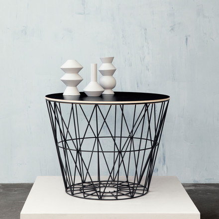 Wire Basket by ferm Living with Top