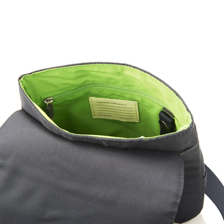 Moleskine - sling bag, small, opened