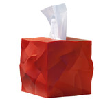 essey - Wipy-Cube tissue box, red