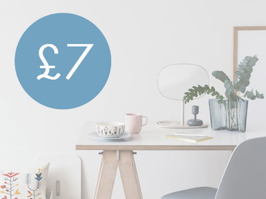 £7 - Connox voucher from £60
