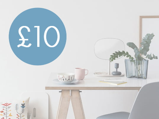£10 - Connox voucher from £80