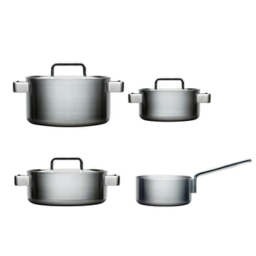 Tools 4 pcs Set: 1 casserole 2l + pot 2, 3, 4 l