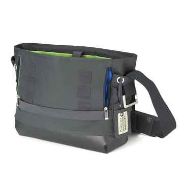 Moleskine - myCloud Messenger Bag - open, sip closure, front