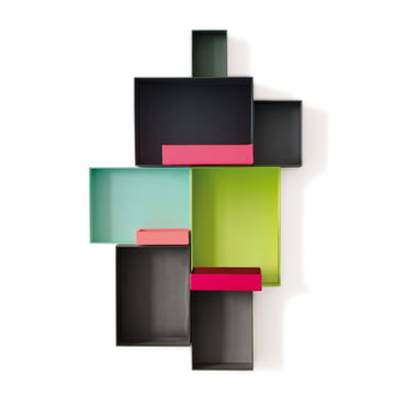 Remember - Pappap Shelf System, Due Colori
