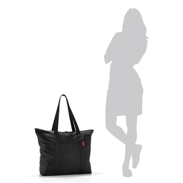 reisenthel - mini maxi travelshopper, black