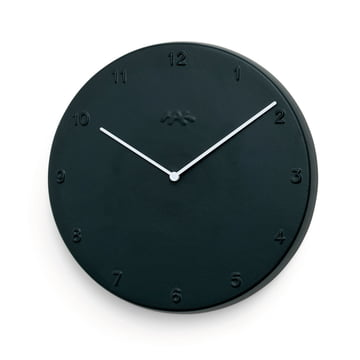 Kähler design - Ora wall clock 30 cm in matt black