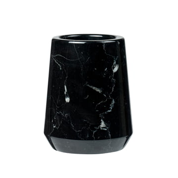 Marble me Toothbrush Mug by Södahl out of marble in black