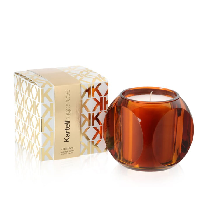 Scented candle diceb y kartell in the shop for Decoration kartell
