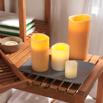 LED Real Wax Candle by Klein & More