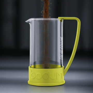 Bodum - Brazil Coffee Maker, 1.0 l, lime - preparation 1