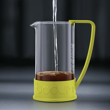 Bodum - Brazil Coffee Maker, 1.0 l, lime - preparation 2