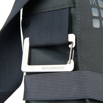 Moleskine - myCloud Messenger Bag - metal carabineer