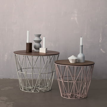 From Wire Basket to a table from ferm Living