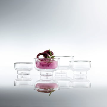 For Dips or Appetisers - Match Glass Bowl by Jenaer Glas