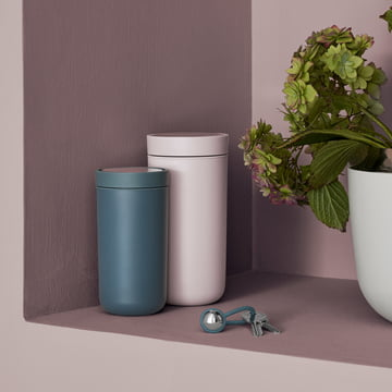 To Go Click Mug (spring 2017) by Stelton with My Keyring
